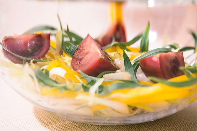 Omelette salade