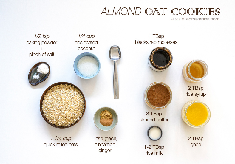 oat-cookies-ingredients